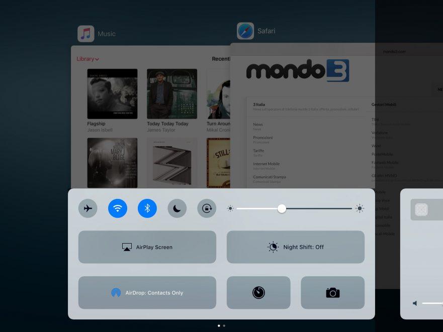iOS 10 - Mondo3 - iPad