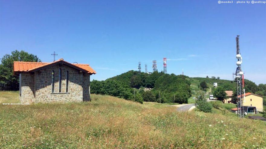 Antenne su Monte Secchiata (Toscana)