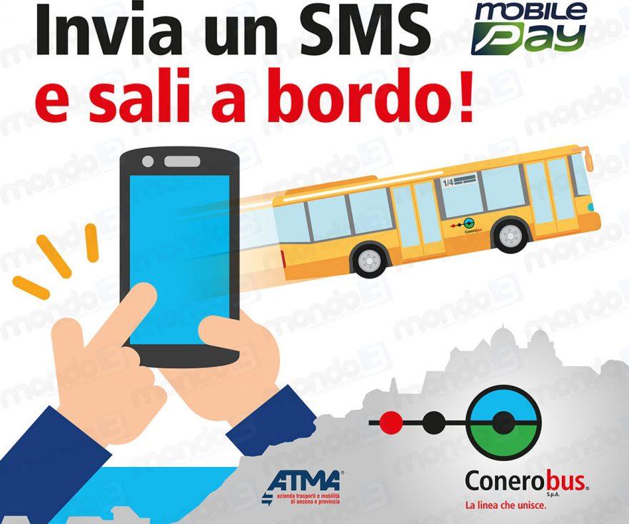 Mobile Ticketing: Con MobilePay il biglietto via SMS anche ad Ancona