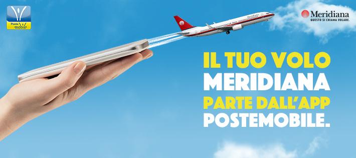 Meridiana + PosteMobile