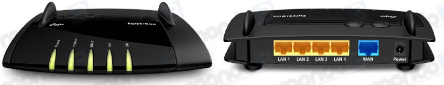 EOLO router (Fritz!Box 4020) ALL BLACK