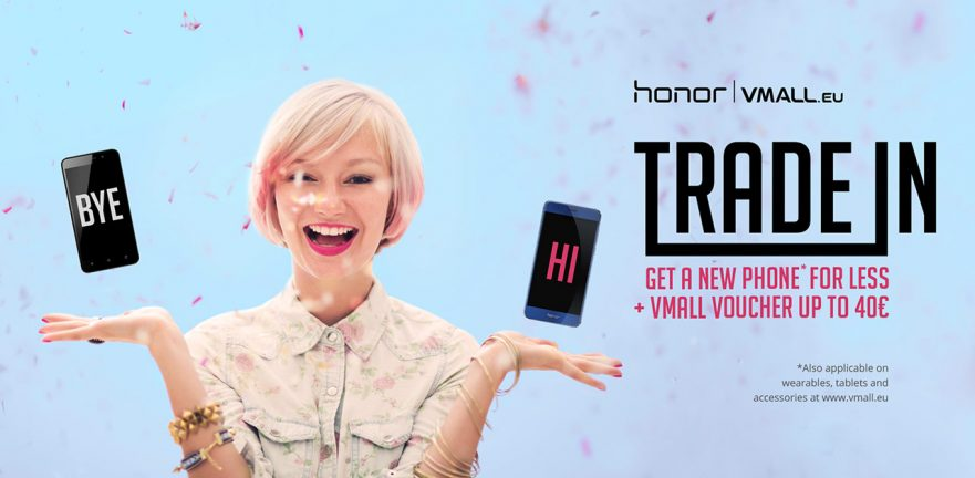 Honor TRADE IN promo