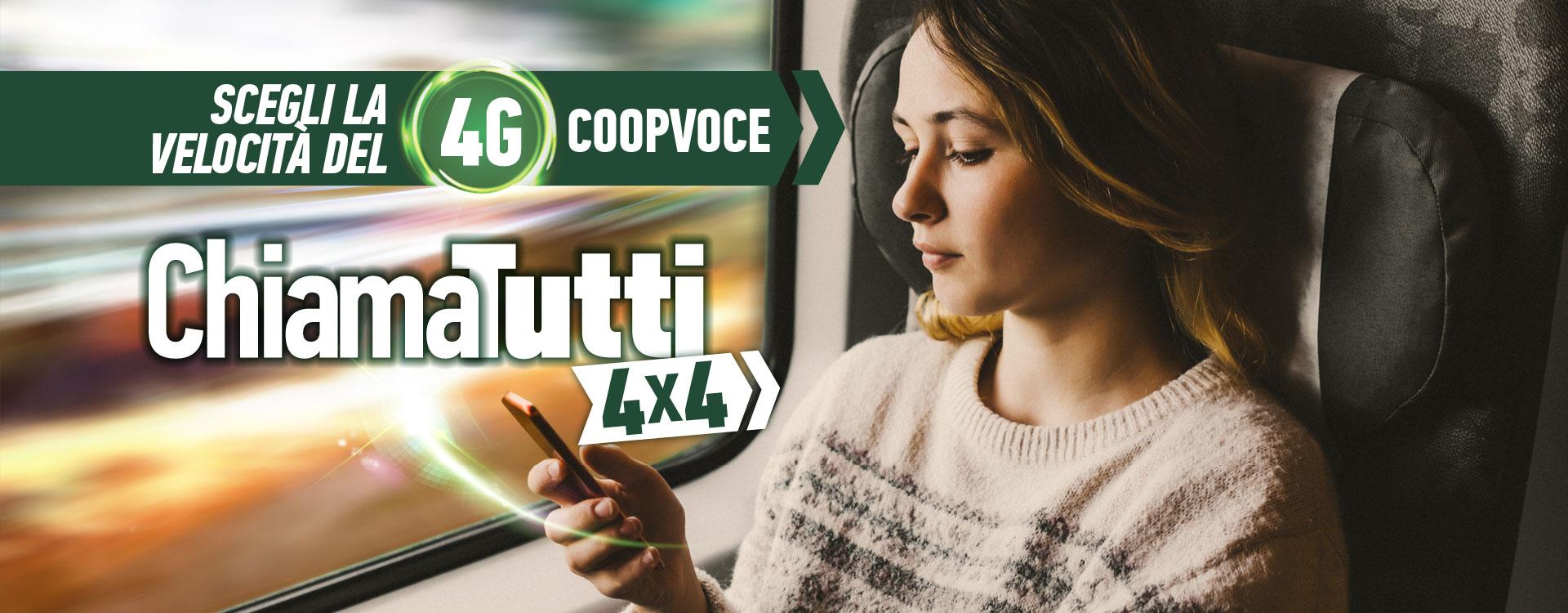 Arriva il 4G anche per i clienti CoopVoce, ecco l'offerta dedicata con internet ad alta velocità