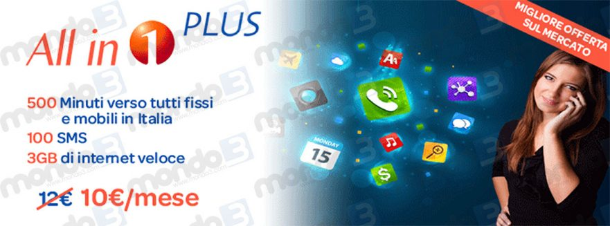 All in 1 PLUS (1Mobile) Natale 2016