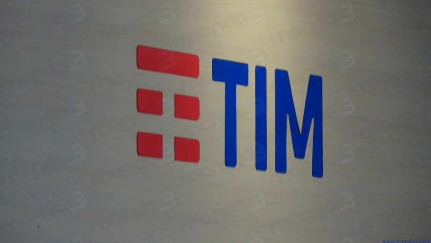 Logo TIM (photo by AndTrap for Mondo3)