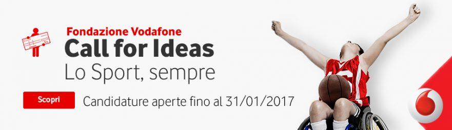 Fondazione Vodafone: Call for Ideas 2017