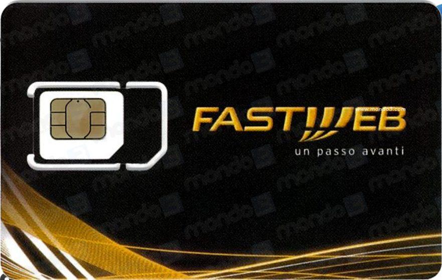 Fastweb Mobile: la SIM 4G (FULL MVNO)