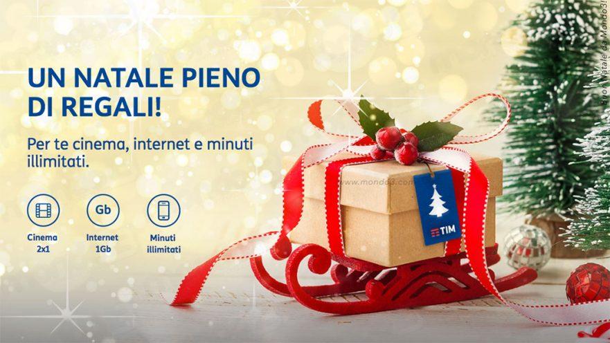 Regali Natale Internet.Promo Un Natale Pieno Di Regali Tim Gratis Cinema Internet