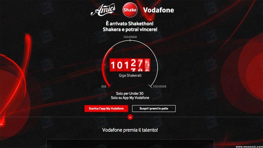 Amici & Vodafone: Shakethon