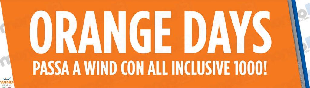 Orange Days: Passa a Wind con All Inclusive 1000