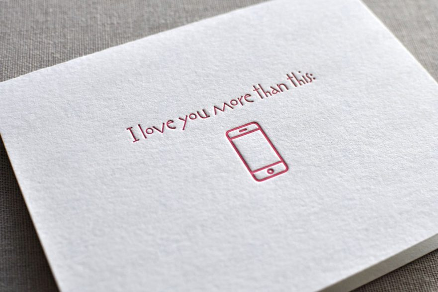 I love you more than my smartphone (iPhone): buon San Valentino da Mondo3!