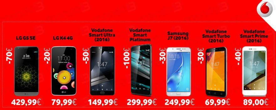 Vodafone: saldi Febbraio 2017