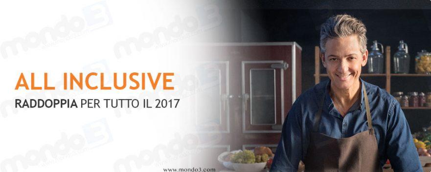 WIND ALL INCLUSIVE RADDOPPIA 2017