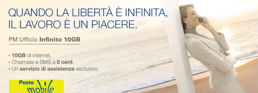 PosteMobile PM Ufficio Infinito 10GB