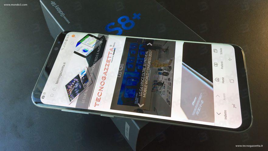 Samsung Galaxy S8+ by TecnoGazzetta & Mondo3