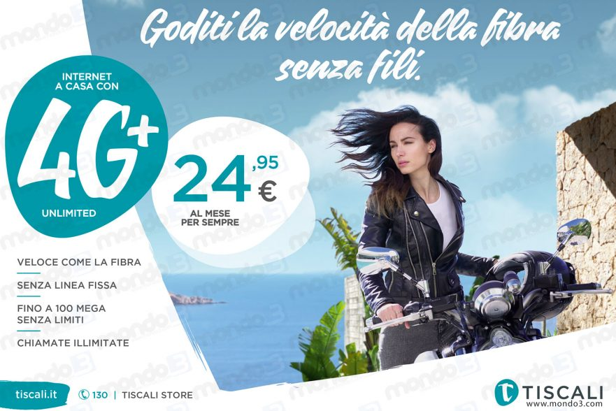 TISCALI 4G+ Unlimited