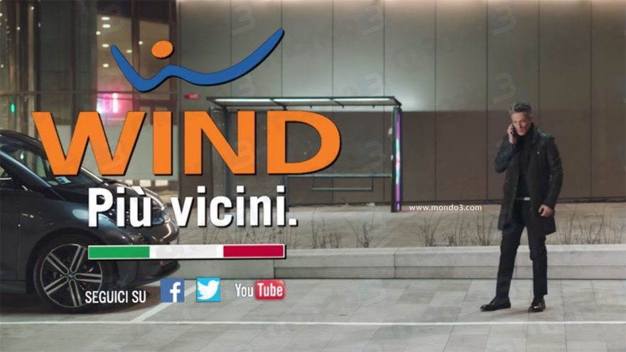 Wind Magnum: Spot TV con Fiorello
