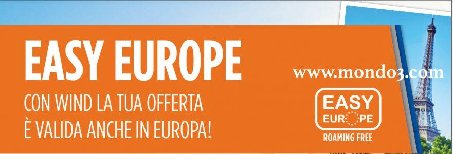 Wind Easy Europe: roaming gratis