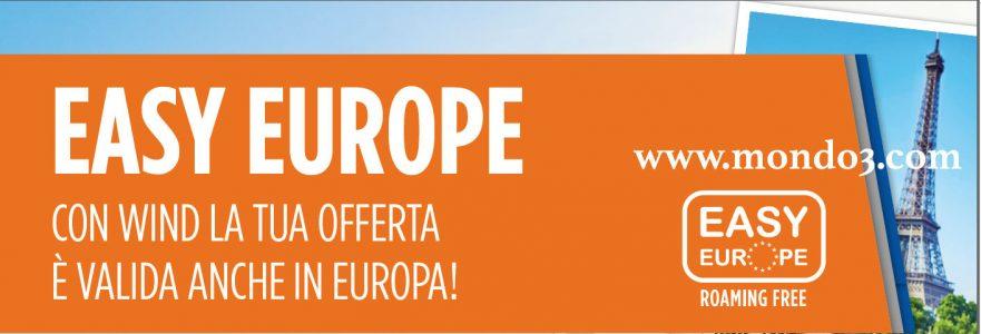 Wind Easy Europe: roaming gratis