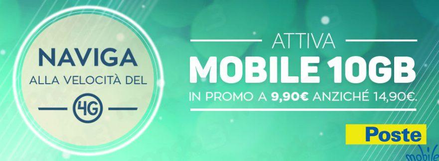Poste Mobile 10 GB
