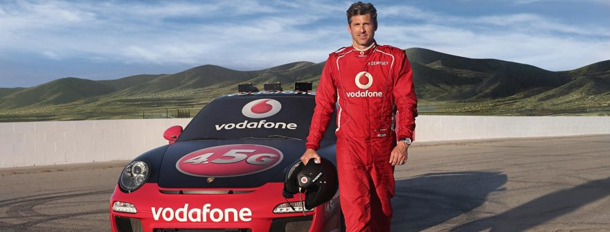 Patrick Dempsey 4.5G Vodafone