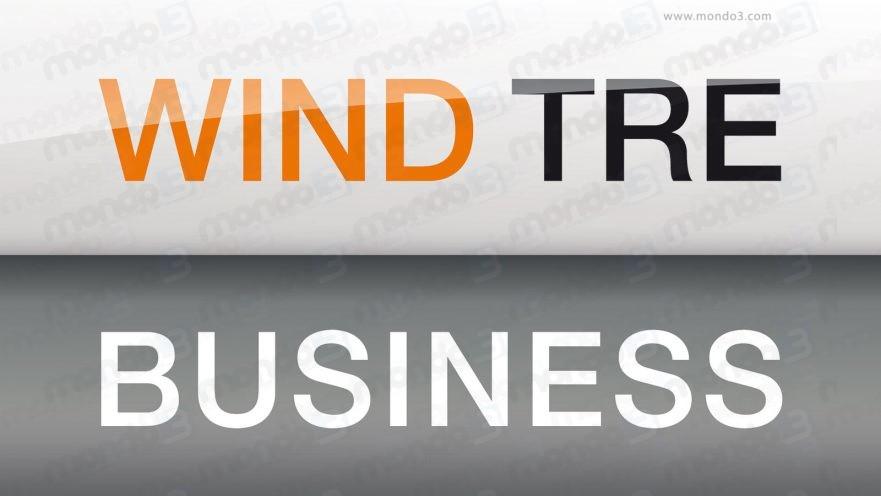 WIND TRE BUSINESS - il nuovo logo (maggio 2017) #Wind3Business