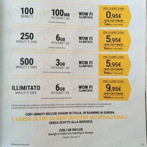 Tariffe Fastweb 8 Maggio 2017: la brochure