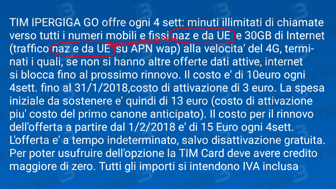 Anche Tim anticipa la data del roaming a zero?