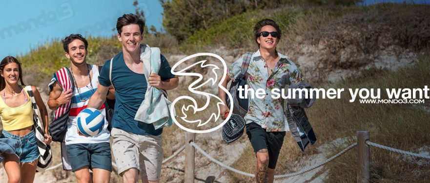 3 Italia: The Summer You Want - SPOT TV Estate 2017