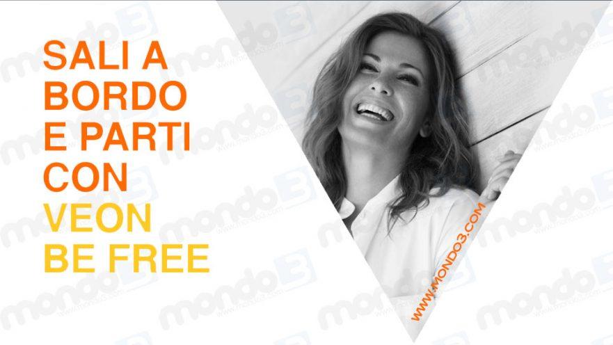 Concorso SALI A BORDO E PARTI CON VEON (Be Free) settembre 2017