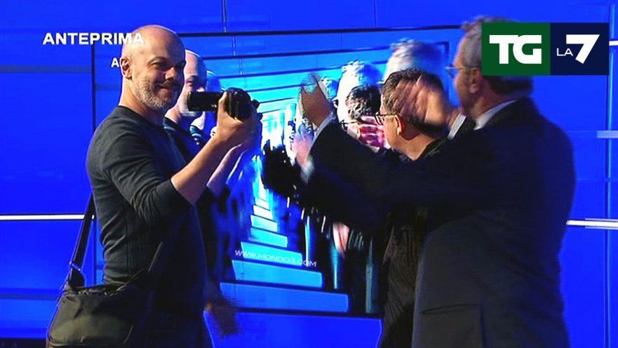 "Diego Bianchi ""Zoro"" & Enrico Mentana al TG La7"