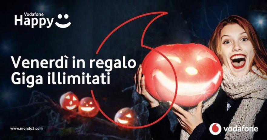 Vodafone Happy Giga Night per Halloween 2017