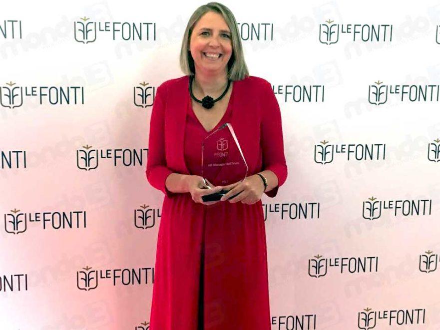 Vodafone, a Donatella Isaia il premio Le Fonti come HR manager dell'anno