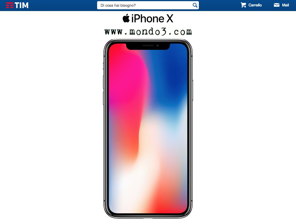 Iphone x le offerte di tim per averlo quanto costano le for Iphone x 3 italia