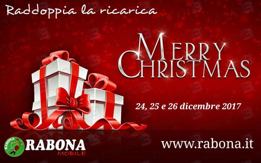 A Natale Rabona Raddoppia La Ricarica