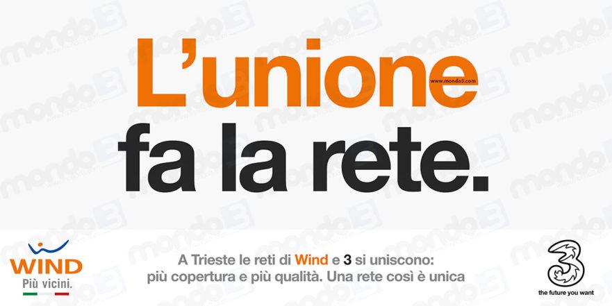 Wind Tre: l'unione fa la rete
