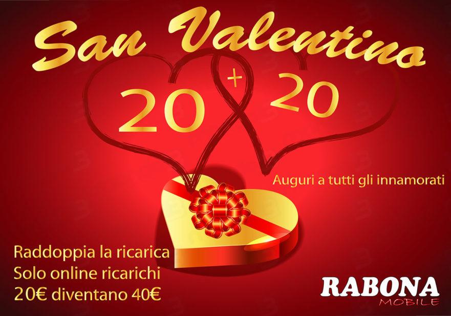 Promo RABONA MOBILE San Valentino 2018