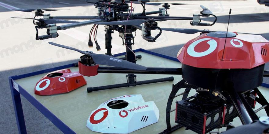 Vodafone: sistema IoT di monitoraggio drone