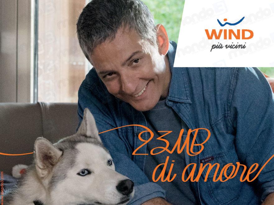 Wind campagna pubblicitaria brand Più Vicini 2018 con Fiorello