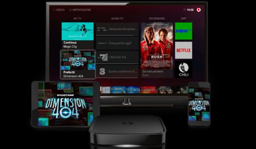Dimension 404, serie TV sci-fi in esclusiva su Vodafone TV in Italia