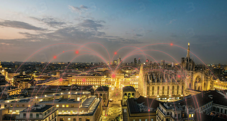 Milano è 5G con Vodafone