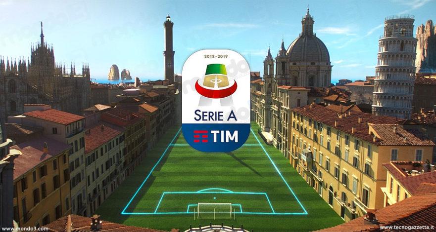 Serie A TIM 2018/2019: le nuove sigle per le partite di campionato