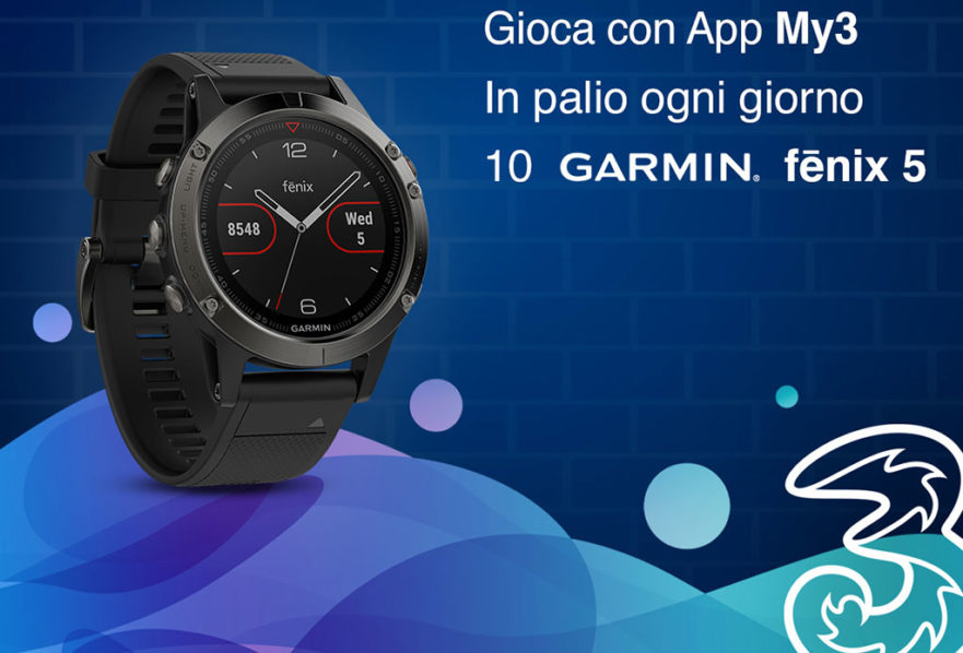 Concorso Fun For 3 - vinci sportwatch Garmin