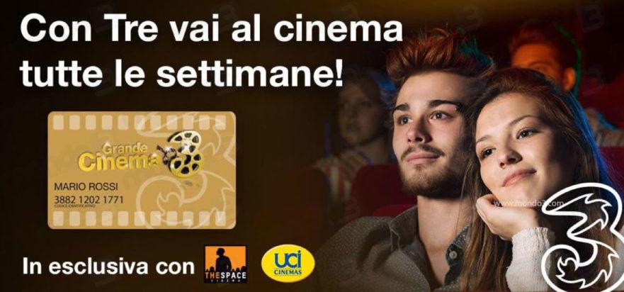 Promozione Grande Cinema 3: rinnovo GC3 (Gold) ottobre-dicembre 2018