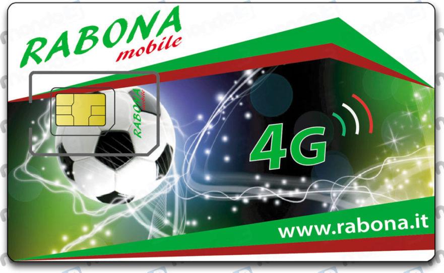Rabona Mobile 4G: la SIM card (2019)
