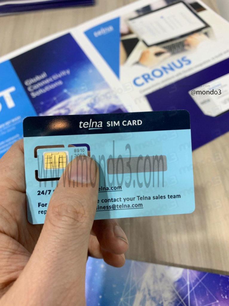 Telna: non solo eSIM ma anche SIM Card fisica #MWC19 @mondo3