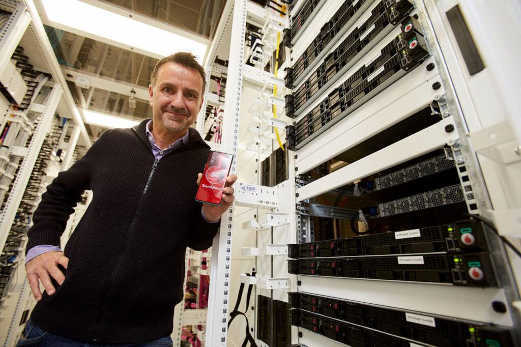 Vodafone DE e Ericsson presentano la nuova rete 5G Standalone
